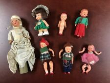 New listing Lot of 7 Small Antique/Vintage Dolls Plastic/Composite/Cellulo id mixed sizes