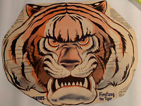 Vintage Wheaties Cereal Box Mask 1940's Firefang The Tiger