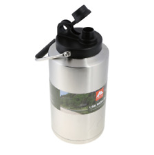 Vacuum Sealed Water Bottle Double Wall 1 Gallon With Lid Stainless Steel Jug