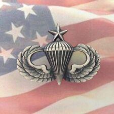 U.S. SENIOR PARATROOPER AIRBORNE PARACHUTE WINGS BADGE