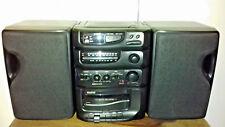 SANYO MCD-S675L BASSXPANDER SHELF STEREO FM/MW/LW RADIO CASSETTE CD PLAYER