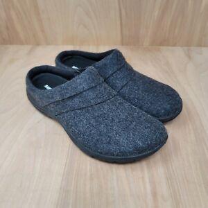 Merrell Women's Dassie Stitch Wool Clogs Slide Slip On Shoes Black Size 8 M