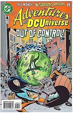 Adventures In The Dc Universe#4 Vf/Nm 1997 Dc Comics