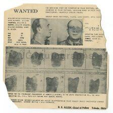 Wanted Notice Mailer - William Wilen Easterday / False Pretense - Toledo, Ohio