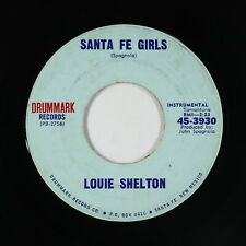 Rockabilly Inst. 45 - Louie Shelton - Santa Fe Girls - Drummark - mp3 - obscure!
