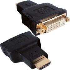 Cables y adaptadores de video vídeos DVI-A macho para TV y Home Audio