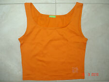 T-shirt orange  BENETTON –  8 Ans