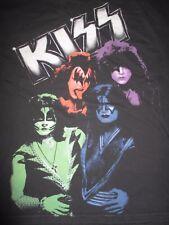 Live Nation KISS Faces Makeup GENE PAUL PETER ACE (LG) T-Shirt