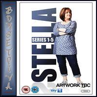 STELLA - COMPLETE SERIES 1 2 3 4 & 5  **BRAND NEW DVD BOXSET***