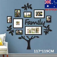 Family Tree Frame Collage Pictures Collage Photo Home Wall Stikers Decor Decals