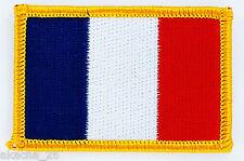PATCH ECUSSON BRODE DRAPEAU FRANCE français INSIGNE THERMOCOLLANT NEUF FLAG