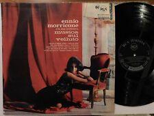 ENNIO MORRICONE MUSICA SUL VELLUTO 1966 RCA PSL 10386 LABEL LP