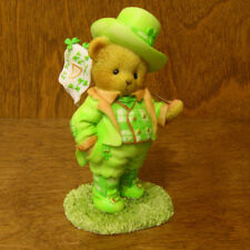 Cherished Teddies #4044688 ST. PADDY'S DAY WISHES, New From Retail Store