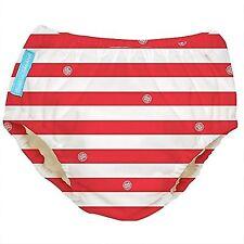 Charlie Banana Extraordinary Swim Diaper - Red Stripes - Large Gender Neutral