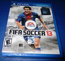 FIFA Soccer 13 Sony PlayStation Vita *Factory Sealed! *Free Shipping!