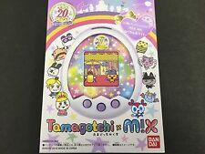 New Tamagotchi m!x 20th Anniversary Royal White m!x Ver MIX Ver Bandai JAPAN