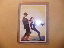 THE TV AVENGERS IN COLOR DIANA RIGG PATRICK MacNEE CORNERSTONE B2 PROMO CARD