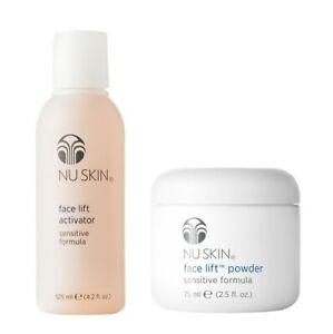 Nu Skin Lifting Face Powder And  Face Lift Activator