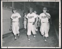 "1950 JACKIE ROBINSON, ""Dejected After Losing Pennant"" Photo by Barney Stein!"
