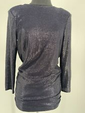 NWT MICHELLE MASON Long Sleeved Mini Dress With Crystals Women's Size 0-2 (P)