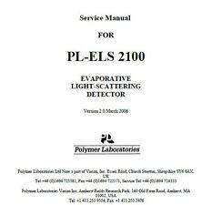PL-ELS 2100 EVAPORATIVE LIGHT-SCATTERING DETECTOR   Service Manual