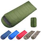 Outdoor Envelope Ultralight Sleeping Bag Waterproof Warm Adult Camping Hiking US