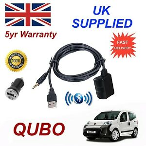 Fiat QUBO Bluetooth Music Streaming Module & 1.0A Power Adapter For Samsung HT