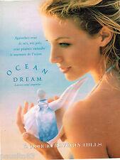 PUBLICITE ADVERTISING 055  1996  GIORGIO BEVERLY HILLS parfum femme OCEAN DREAM