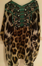 "Camilla Fanks Pathera top size (M stunning!! Rare! SOLD OUT! DON""T MISS!!"