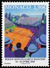 Timbre Sports Tennis Monaco 3121 ** année 2018 lot 28511