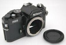 [Near Mint-] NIKON NEW FM2 Black SLR 35mm Film Camera Body SN 8625378 From Japan