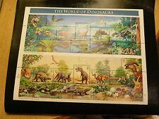 United States Scott 3136, the 1997 World of Dinosaurs Pane of 15 Sheet Mint