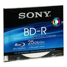 Blu-ray BD-R Jewel Case sottile per l'archiviazione di dati informatici