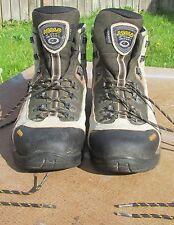 Men's Romania ASOLO FSN 85 Brown / Tan Leather Hiking Boots ~ Size 11.5