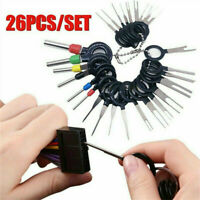 26x Terminal Removal Tool Car Electrical Wiring Crimp Connector Pin Extractor UK