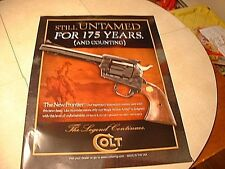 Colt's Firearms 175th Year Anniversary Revolver Poster
