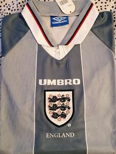 1996 Retro England Football Shirt - Large