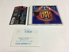 SNK NEO GEO Neo•Geo Super Live! 1994 Soundtrack CD + Guitar Pick Garou Densetsu