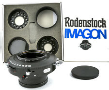 Rodenstock Imagon 300mm f6.8 Copal No.3 Shutter with Attachments - Complete Set