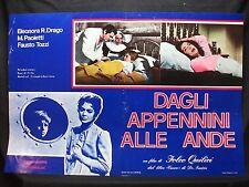 FOTOBUSTA CINEMA - DAGLI APPENNINI ALLE ANDE - E. R. DRAGO -1959-SENTIMENTALE-02