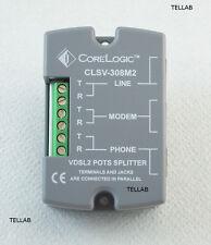 SPLITTER PRO DUO VDSL2 & ADSL 2+ da Corelogic CLSV-308M Fibra Ottica su Doppino