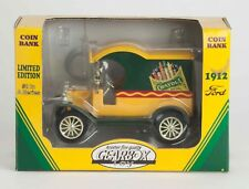 CRAYOLA 1912 MODEL T  FORD DELIVERY VAN - COIN BANK MONEY BOX - GEARBOX TOYS