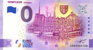 14 HONFLEUR Port 2, 2021, Billet Euro Souvenir