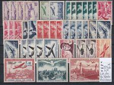 France, très beau lot de divers timbres de la Poste Aérienne, neuf* cote 523,60€