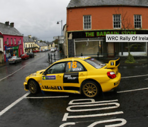 IRISH RALLY TRANSKIT 1/43 DECAL SUBARU IMPREZA WRC GUY WILKS RALLY IRELAND 2007