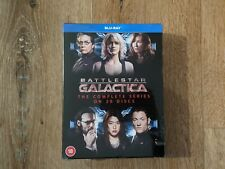 BATTLESTAR GALACTICA The Complete TV Series Box Set 20 Disc Blu-Ray