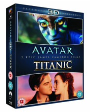 Avatar / Titanic 3D [Blu-ray] [Region-Free] [2013] - NEW