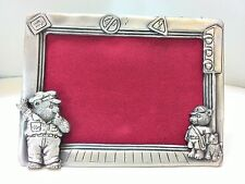 WHOLESALE...Police Bear/ Pewter Picture Frame/ Police/ Bear (Lot of 5)