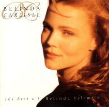 BELINDA CARLISLE ( NEW SEALED CD ) THE VERY BEST OF VOLUME 1 / GREATEST HITS