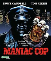 BLURAY Maniac Cop 80s Horror Movie Slasher SPECIAL EDITION bruce campbell NEW